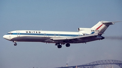 N7641U - Boeing 727-222 - United Airlines