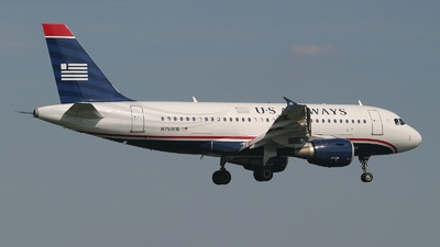 N750UW - Airbus A319-112 - US Airways