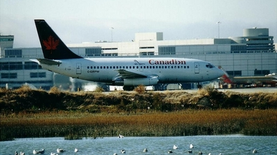 C-GRPW - Boeing 737-275(Adv) - Canadian Airlines International