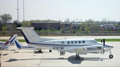 N767WF - Beechcraft 200 Super King Air - Private
