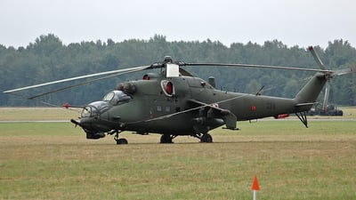 734 - Mil Mi-24V Hind E - Poland - Air Force