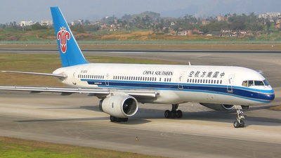 B-2815 - Boeing 757-21B - China Southern Airlines