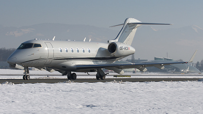 OE-HCA - Bombardier BD-100-1A10 Challenger 300 - Private
