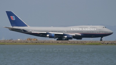 N187UA - Boeing 747-422 - United Airlines