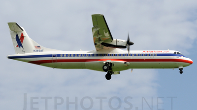 N369AT - ATR 72-212 - American Eagle (Executive Airlines)