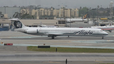 N962AS - McDonnell Douglas MD-83 - Alaska Airlines