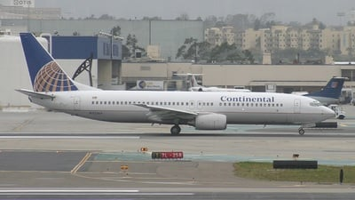 N33264 - Boeing 737-824 - Continental Airlines