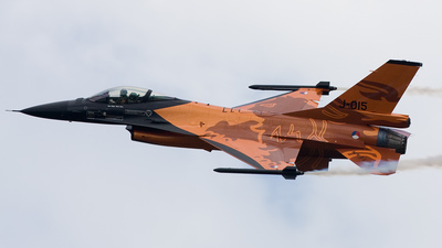 J-015 - General Dynamics F-16AM Fighting Falcon - Netherlands - Royal Air Force