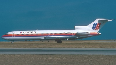 N7645U - Boeing 727-222 - United Airlines