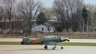 N285CJ - Nanchang CJ6 - Private