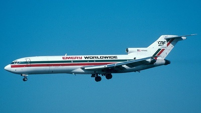 N7644U - Boeing 727-222 - Emery Worldwide