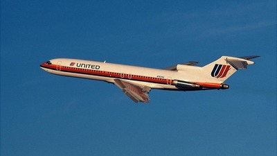 N7624U - Boeing 727-222 - United Airlines