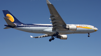 VT-JWH - Airbus A330-203 - Jet Airways