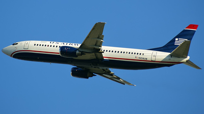 N458UW - Boeing 737-4B7 - US Airways