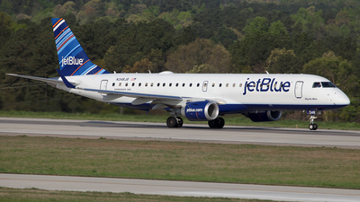 N348JB - Embraer 190-100IGW - jetBlue Airways
