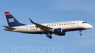 N809MD - Embraer 170-100SU - US Airways Express (Republic Airlines)