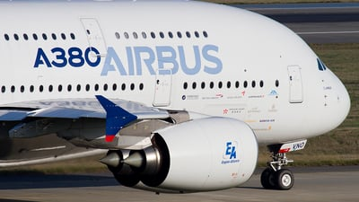 F-WWDD - Airbus A380-861 - Airbus Industrie