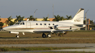 N71CC - Rockwell Sabreliner 60 - Private