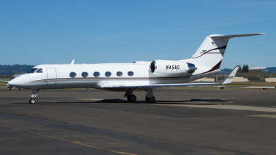 N45AC - Gulfstream G-IV - Ashton Aviation