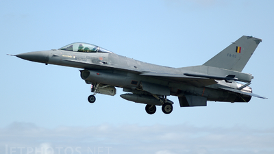FA-83 - General Dynamics F-16AM Fighting Falcon - Belgium - Air Force