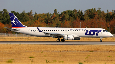 SP-LND - Embraer 190-200LR - LOT Polish Airlines