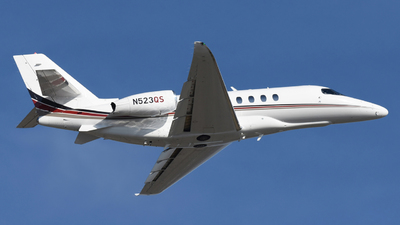 N523QS - Cessna Citation Latitude - NetJets Aviation