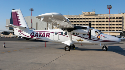 A7-MAQ - Viking DHC-6-400 Twin Otter - Qatar - Air Force