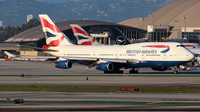 G-CIVH - Boeing 747-436 - British Airways