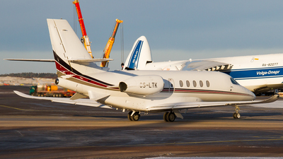 CS-LTK - Cessna Citation Latitude - NetJets Europe