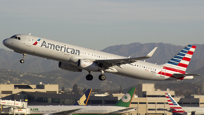 N111ZM - Airbus A321-231 - American Airlines