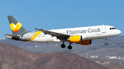 EC-MVH - Airbus A320-214 - Thomas Cook Airlines Balearics
