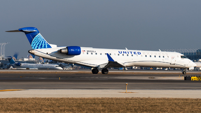 N502GJ - Bombardier CRJ-550 - United Express (GoJet Airlines)