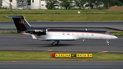 N517TW - Gulfstream G550 - Private