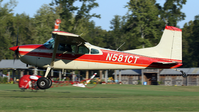 N581CT - Cessna A185F Skywagon - Private