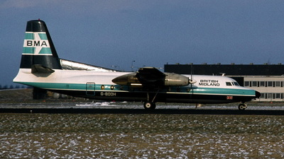 G-BDDH - Fokker F27-200 Friendship - British Midland