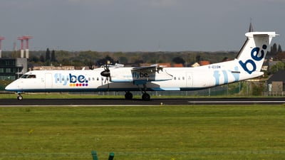 G-ECOM - Bombardier Dash 8-Q402 - Flybe