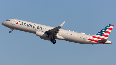 N110AN - Airbus A321-231 - American Airlines