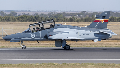 A27-19 - British Aerospace Hawk Mk.127 Lead-In Fighter - Australia - Royal Australian Air Force (RAAF)