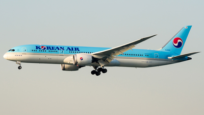 hl8081 boeing 787 9 dreamliner korean air flightradar24
