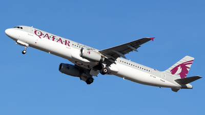A7-AIA - Airbus A321-231 - Qatar Airways