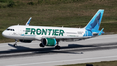 N342FR - Airbus A320-251N - Frontier Airlines