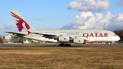 A7-APG - Airbus A380-861 - Qatar Airways
