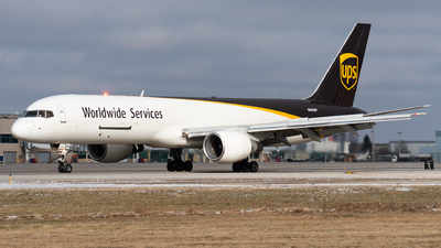 N404UP - Boeing 757-24A(PF) - United Parcel Service (UPS)