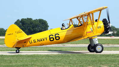N222FK - Boeing A-75L Stearman - Private