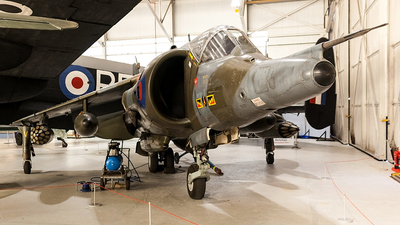 XZ997 - Hawker Siddeley Harrier GR.3 - United Kingdom - Royal Air Force (RAF)