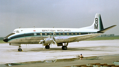 G-AWCV - Vickers Viscount 760D - British Midland