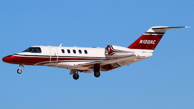 N100RC - Cessna 525C CitationJet 4 - Private