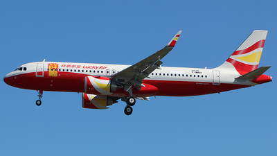 F-WWBF - Airbus A320-251N - Lucky Air