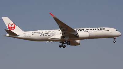 F-WZFX - Airbus A350-941 - Japan Airlines (JAL)