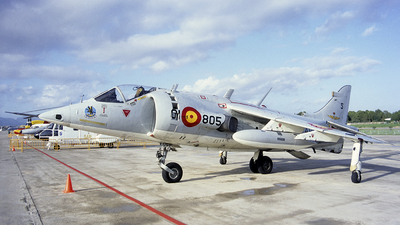 VA.1-4 - Hawker Siddeley AV-8S Matador - Spain - Navy
